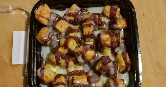 Review Little Caesars Cinnamon Loaded Crazy Bites