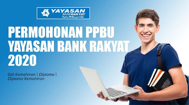Permohonan PPBU Yayasan Bank Rakyat Kini Dibuka