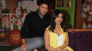 kapil sharma got angry on priyanka chopra