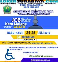 Job Fair Kota Malang Terbaru Juli 2019