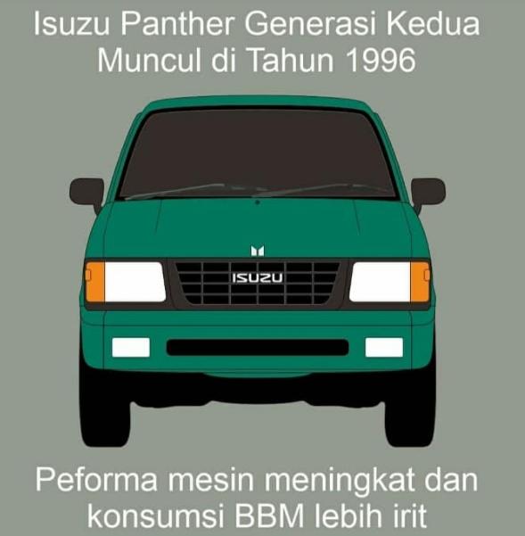 Isuzu panther generasi Kedua