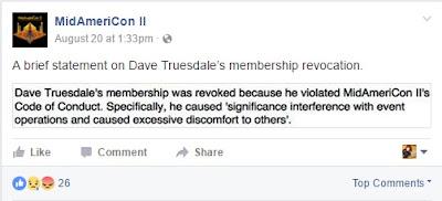 Midamericon II Dave Truesdale expulsion