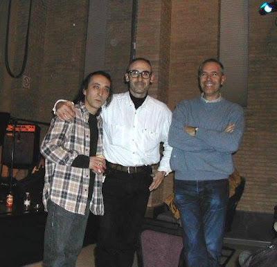 Rafael Berrio, Javi Gafotas y Cisco Fran