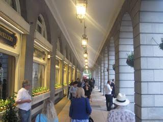 The Ritz corridor.