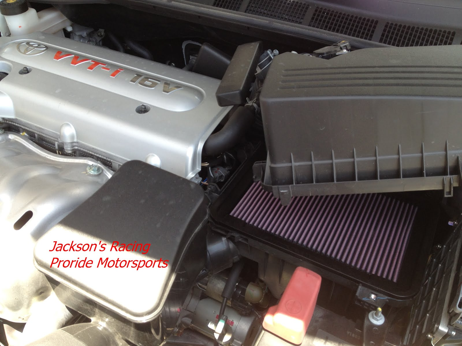 brand new toyota camry engine grand avanza 2018 putih pro ride motorsports k and n for 2 4