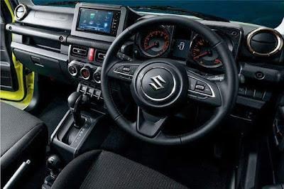 Dashboard Suzuki Jimny 2018. Sumber : grup wa.