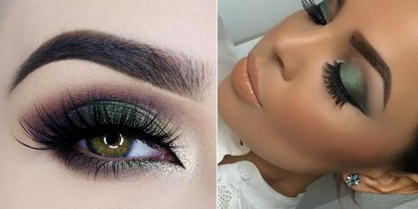 10c87e0b5138 Υπέροχο πράσινο μακιγιάζ ματιών!!!