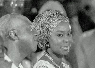 Bukola Saraki and Wife