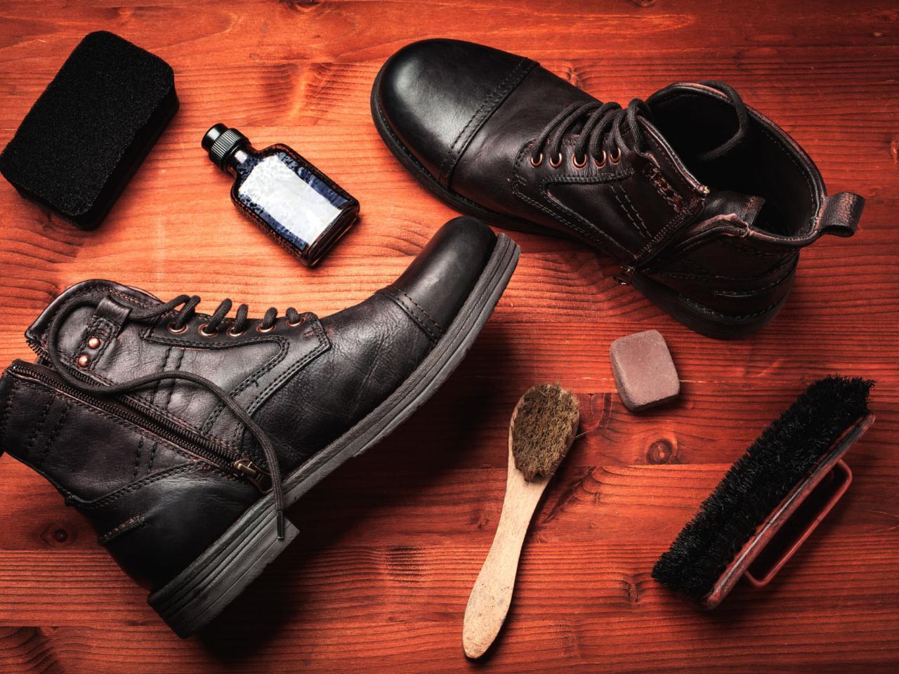 cuidado de botas de seguridad