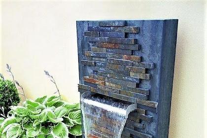 Inspirasi Desain Air Mancur Untuk Dekorasi Rumah Minimali