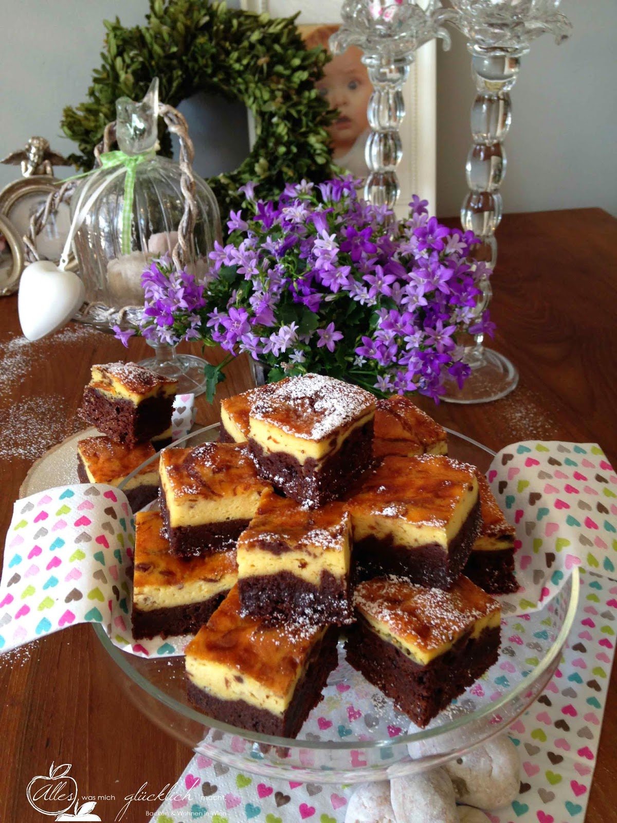 Cheescake Brownies