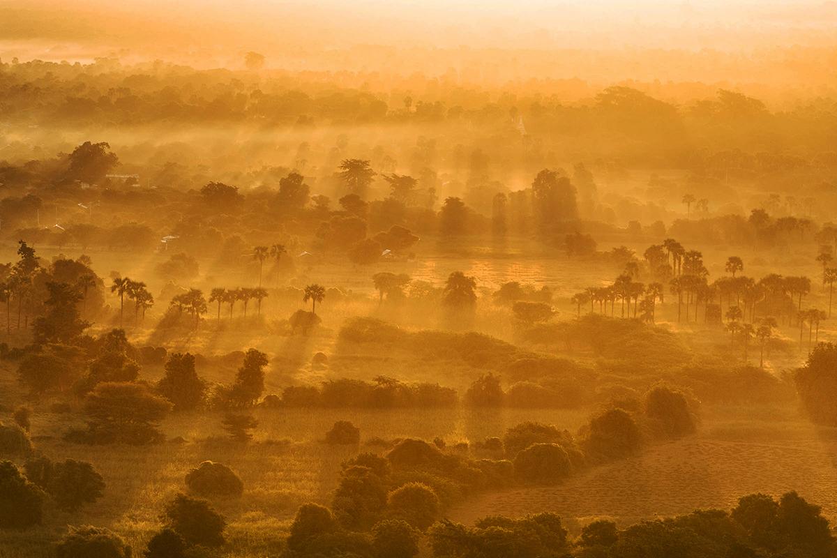 Memaksimalkan Komposisi Foto Landscape mata elang
