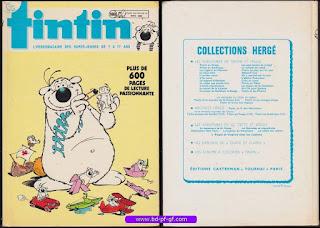 Recueil Tintin, édition Belge, numéro 188, 1987-1989