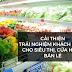 Tối ưu hoá trải nghiệm khách hàng cho siêu thị, cửa hàng bán lẻ