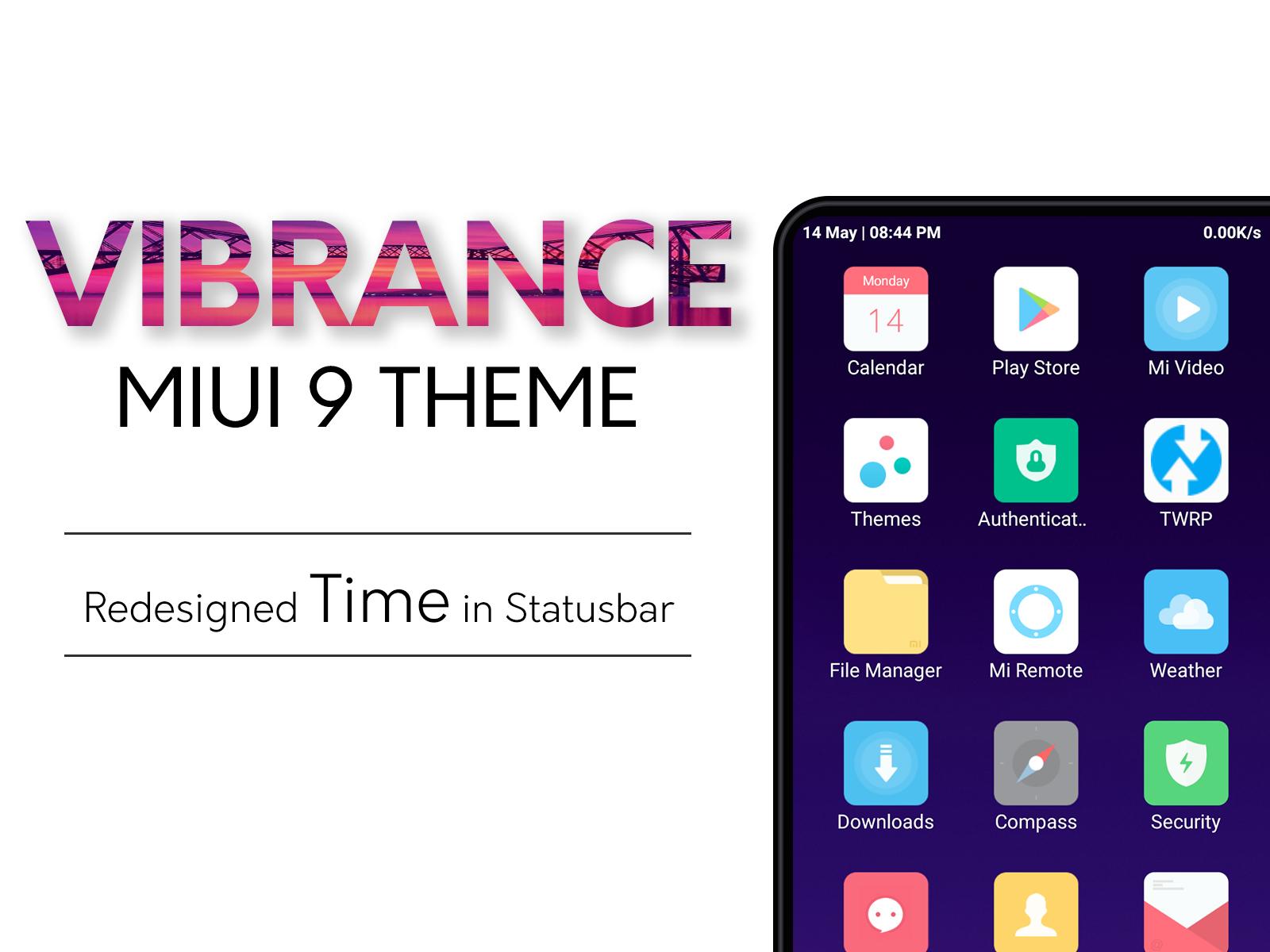 Vibrance MIUI Theme | MI Themex | MIUI Themes, Redmi Themes