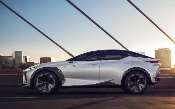 Lexus LF-Z: conceito antecipa SUV elétrico para enfrentar o Audi e-Tron