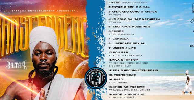 O rapper angolano Balta P disponibiliza seu álbum para pré-venda no Soba-Store | Transcendência