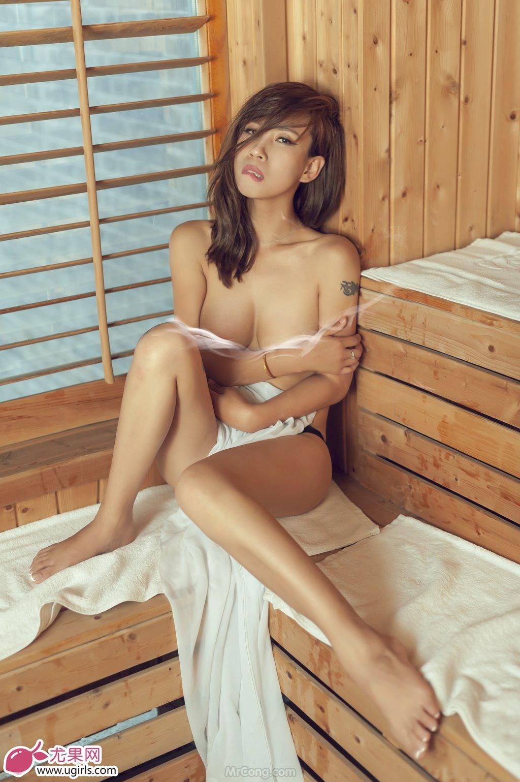 Image MrCong.com-UGIRLS-020-Tian-Yi-Yi-033 in post Người đẹp Tian Yi Yi (田依依) khoe ngực trần sexy trong bộ ảnh UGIRLS 020