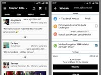 BBM Mod V 2.13.1.14 APK Black Theme Special Edition