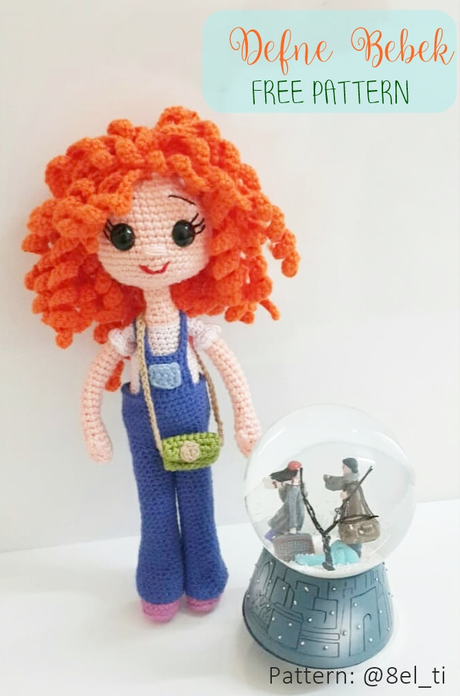 Amigurumi Tini Mini Kız Yapılışı-Free Pattern Tini Mini Dolls ... | 1013x670
