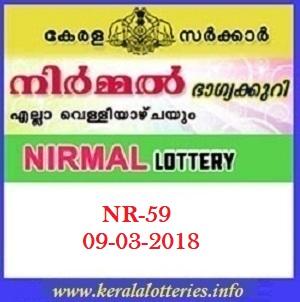 NIRMAL (NR-59) LOTTERY RESULT