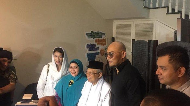 Jadi Mualaf, Dua Nama yang Disarankan KH Maruf Amin untuk Deddy Corbuzier