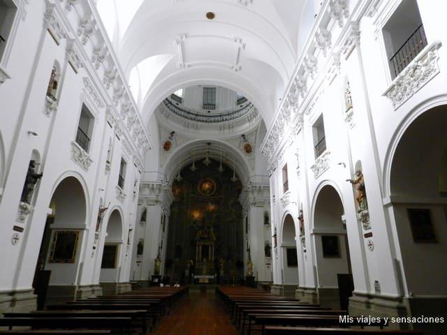 Interior Iglesia de los Jesuitas, Toledo
