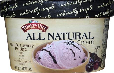 On Second Scoop Ice Cream Reviews Turkey Hill Black