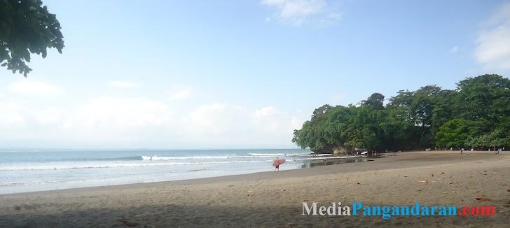 Pantai Batu Karas, Keindahan Pantainya Menakjubkan