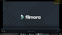 full screen logo of filmora in the last of video in free(trail) version  -MSS Articles