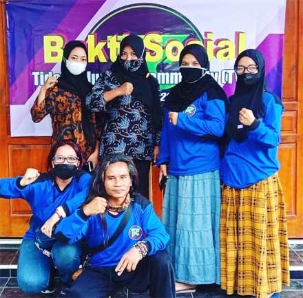Tidar Volunteer Community Magelang Adakan Bakti Sosial