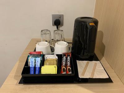 Coffee amenities, Hilton Garden Inn Kuala Lumpur