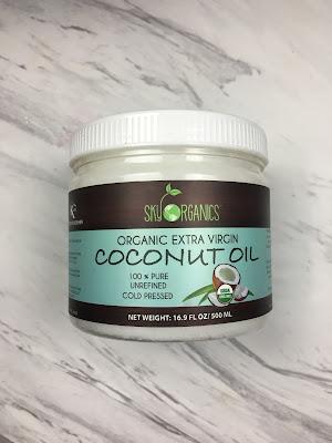 Sky Organics Organic Extra Virgin Coconut Oil| PrettyPRChick.com
