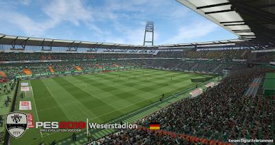 PES 2019 Stadium Weserstadion by Arthur Torres