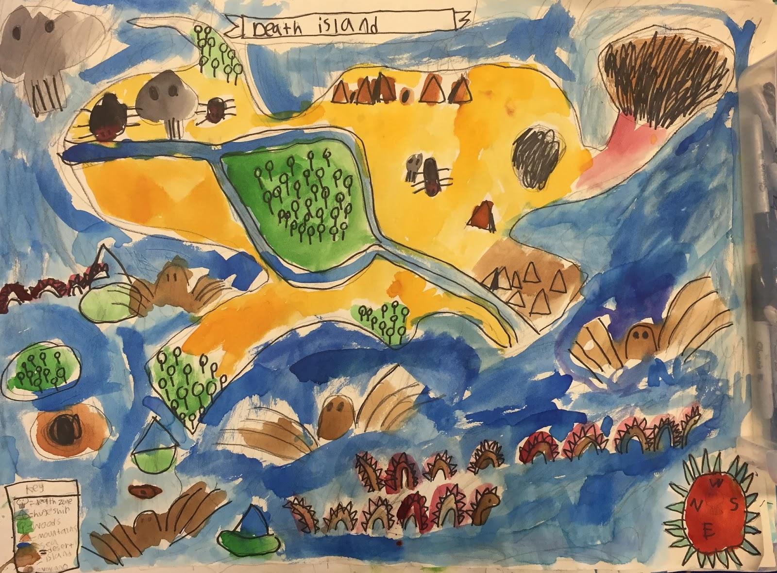 Small Batch Art 3rd Grade Map Makers