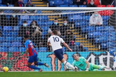 ملخص واهداف مباراة توتنهام وكريستال بالاس (1-1) الدوري الانجليزي