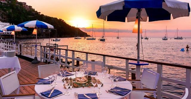 Restaurantes em Sorrento