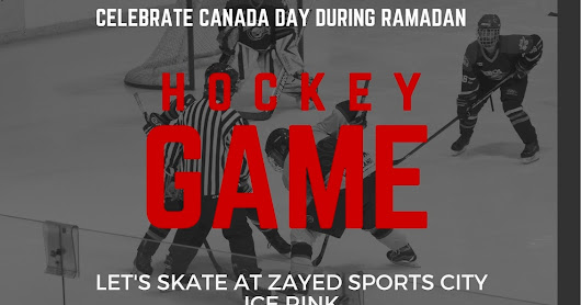 Canada Day in the UAE: Hocky Night in Abu Dhabi