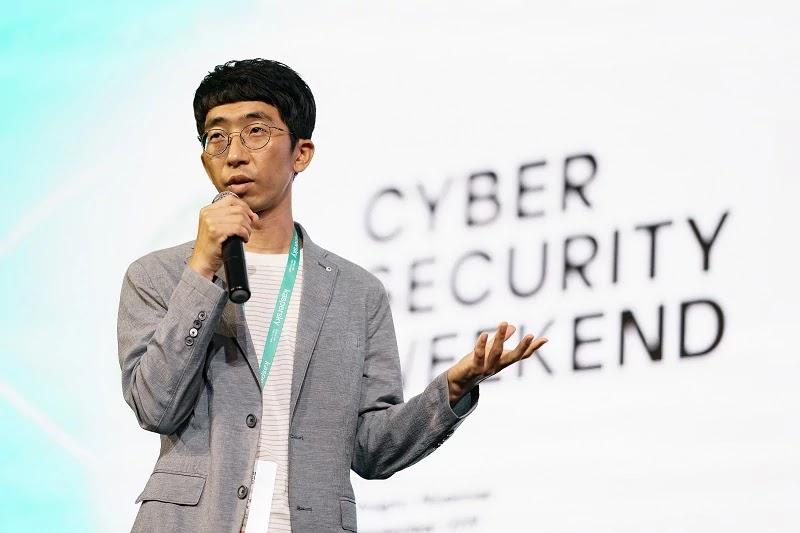 Seongsu Park, security researcher at Kaspersky
