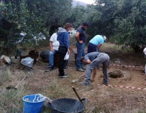 Ιεράπετρα: Σε εξέλιξη ανασκαφές στην Επισκοπή μετά από σημάδι που δείχνει αρχαιολογικά ευρήματα