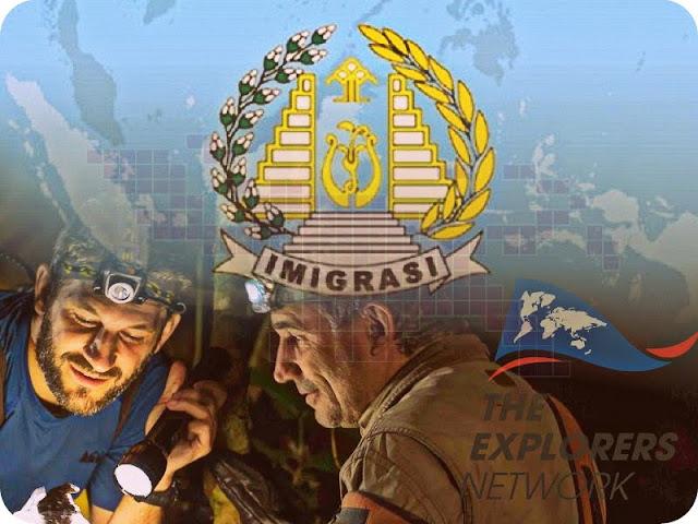 Imigrasi Deportasi Anggota The Explorers Network, Frank Escudie dan Basile Longchamp