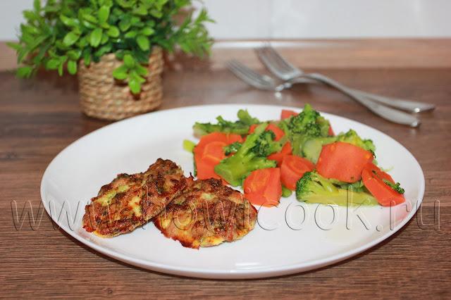рецепт куриных котлет с брокколи