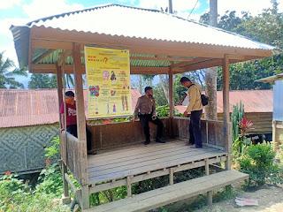 Kapolsek Malua Sambang Dan Kontrol Pos Kamling Kampung Tangguh Massenrempulu