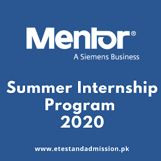 Mentor Graphics Summer Internship 2020