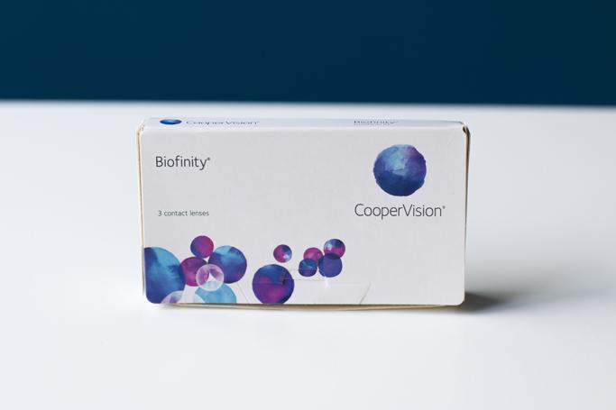lentile de contact lentiamo biofinity coppervision