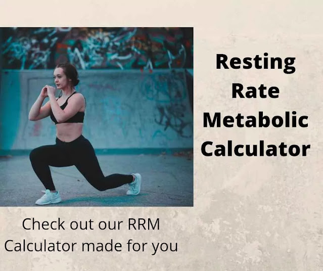 Free Resting Metabolic Rate Calculator