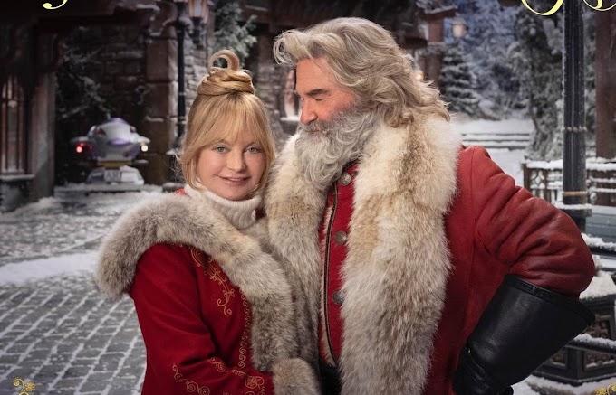 CRONICAS DE NAVIDAD 2: Kurt Russell demostrando por segunda vez, que es el mejor Santa Claus