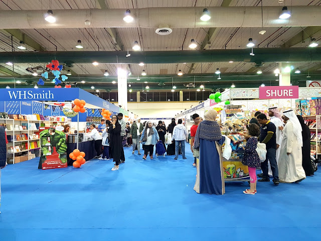 The 41st Kuwait International Book Fair in Halls 5, 6 and 7 of the Mishref International Fair Grounds