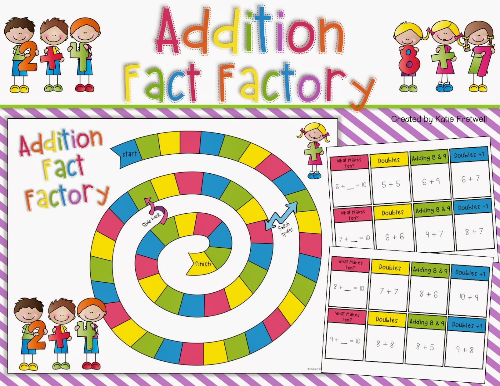 Subtraction Games First Grade