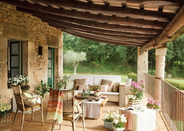 The Best Ideas Of Rustic Terraces 5